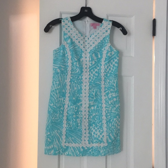 Lilly Pulitzer Other - White and blue Lilly Pulitzer dress